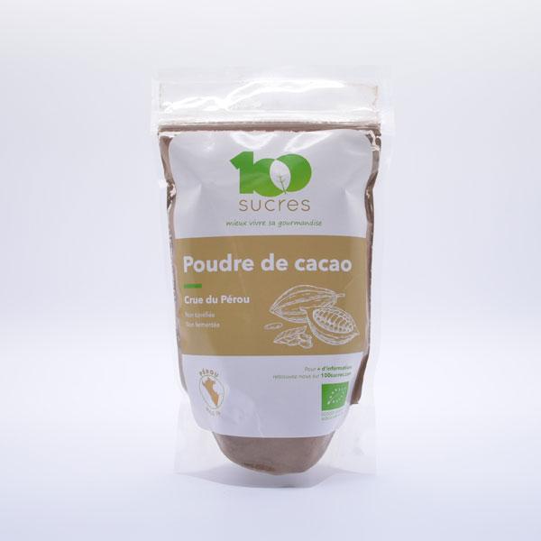 Poudre de Cacao Crue Bio – Sachet de 250g