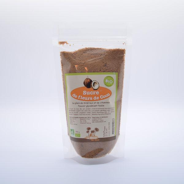 Sucre de Fleurs de Coco Bio – Sachet de 250g