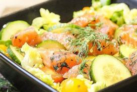 salade-saumon-gravlax-xylitol